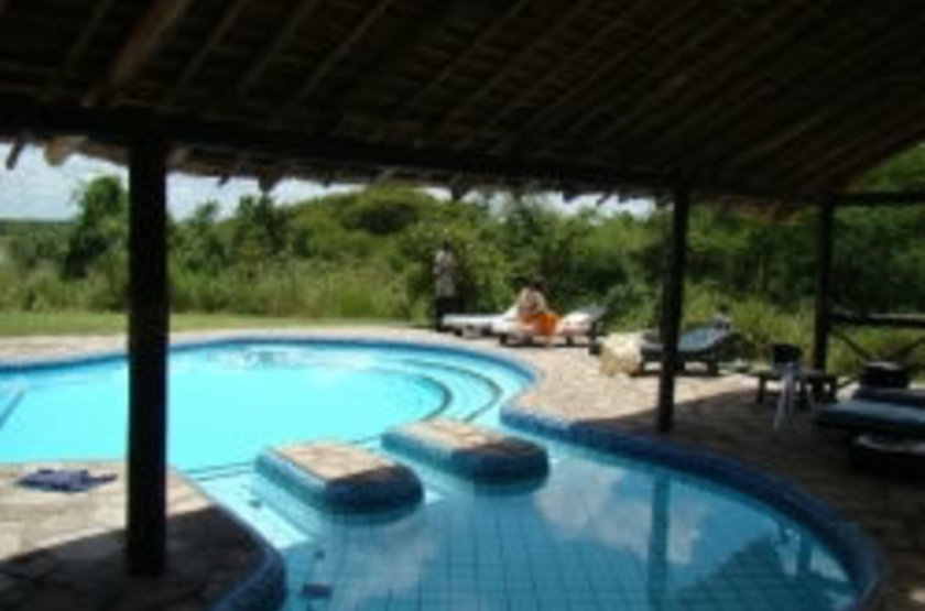 Nile Safari Camp, Murchison Falls, Ouganda, piscine