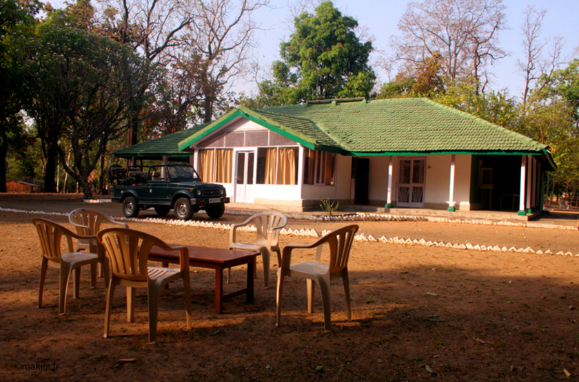Churna Camp Forest Bungalow, Satpura Reserve, Inde, bungalow