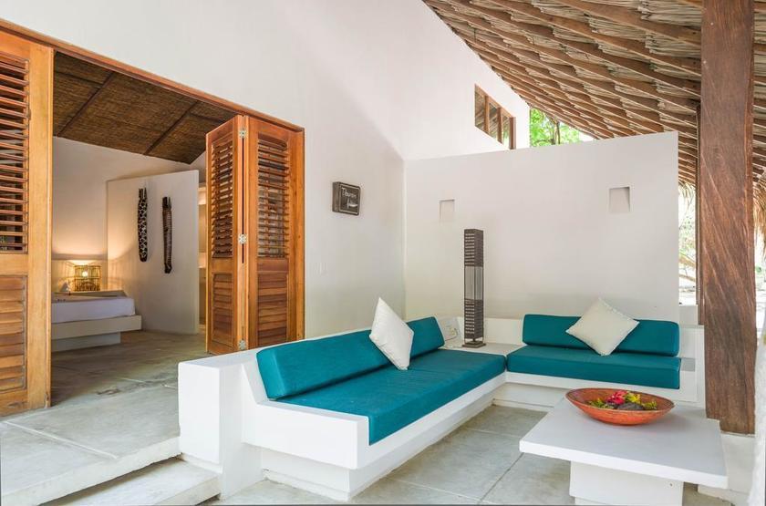 Colombie - San Pedro de Majagua - Chambre et terrasse
