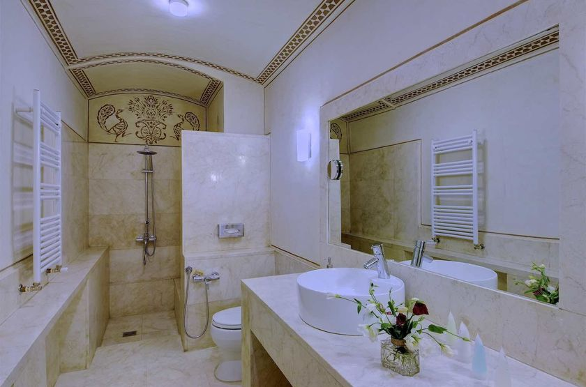 Manouchehri House, Kashan, Iran, salle de bains