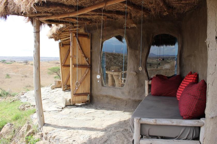 Tanzanie - Maasai Lodge - Extérieur