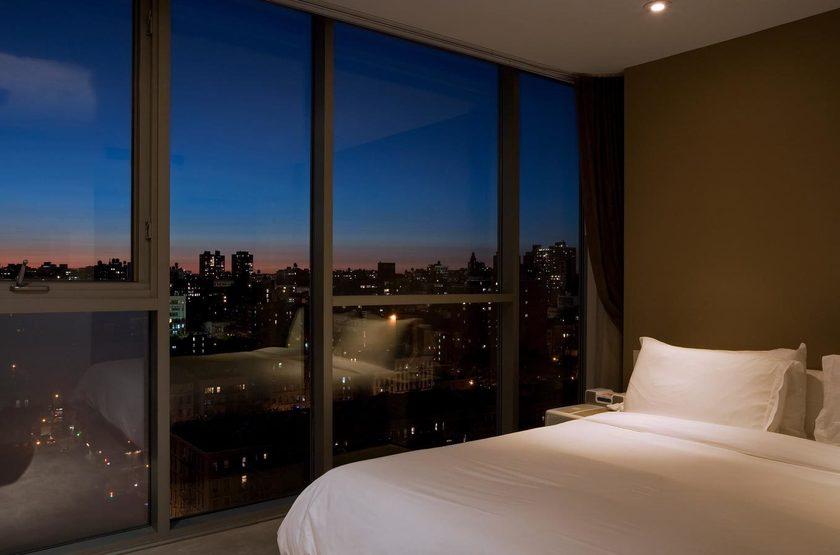 On Rivington New York, Etats Unis, chambre avec vue