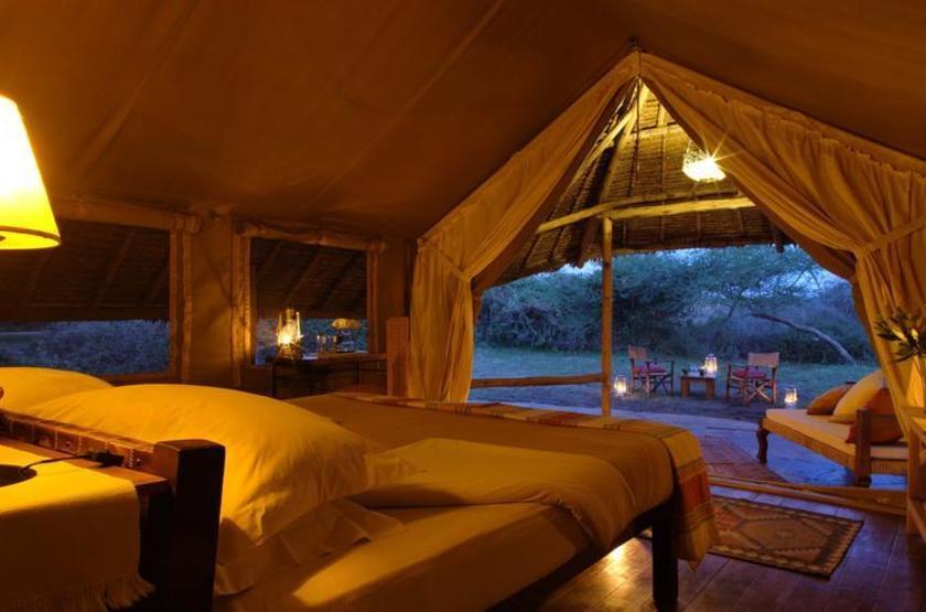 Elewana Tortilis Camp, Amboseli, Kenya, tente