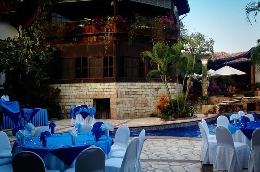 Hotel Marina Copan, Ruinas, Honduras, dîner