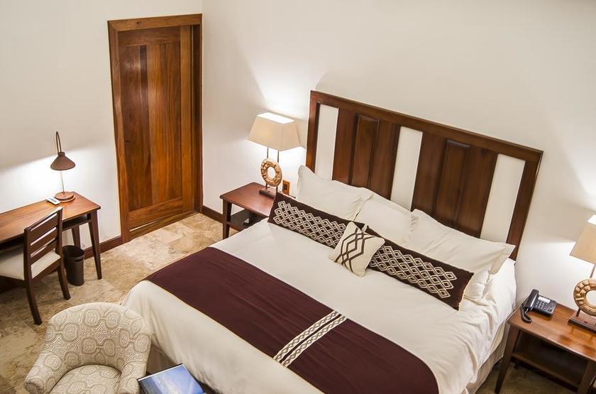 Guatemala - Hotel Bolontiku - Chambre