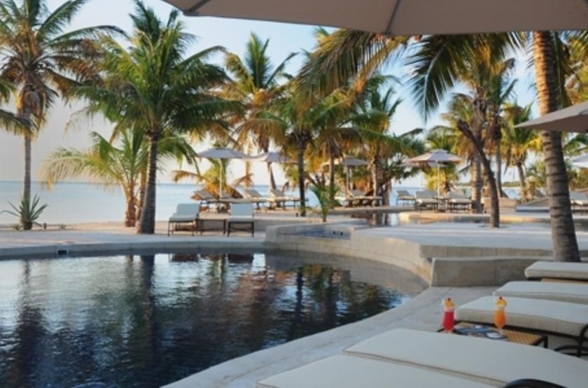 Pestana Bazaruto Lodge, Mozambique, piscine