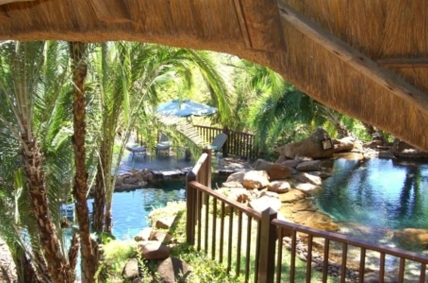 Victoria Falls Safari Lodge, Victoria Falls, Zimbabwe, piscine