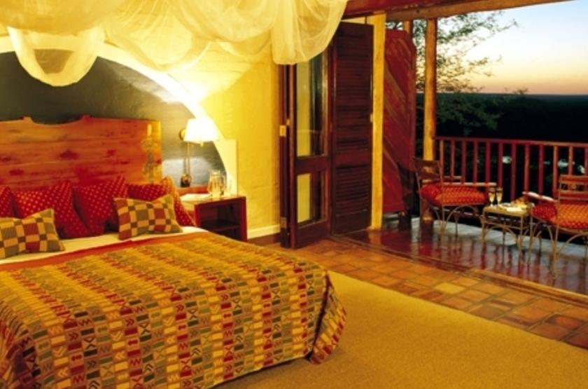 Victoria Falls Safari Lodge, Victoria Falls, Zimbabwe, chambre