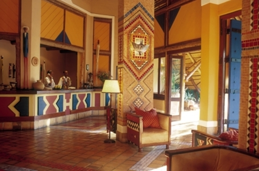 Victoria Falls Safari Lodge, Victoria Falls, Zimbabwe, intérieur