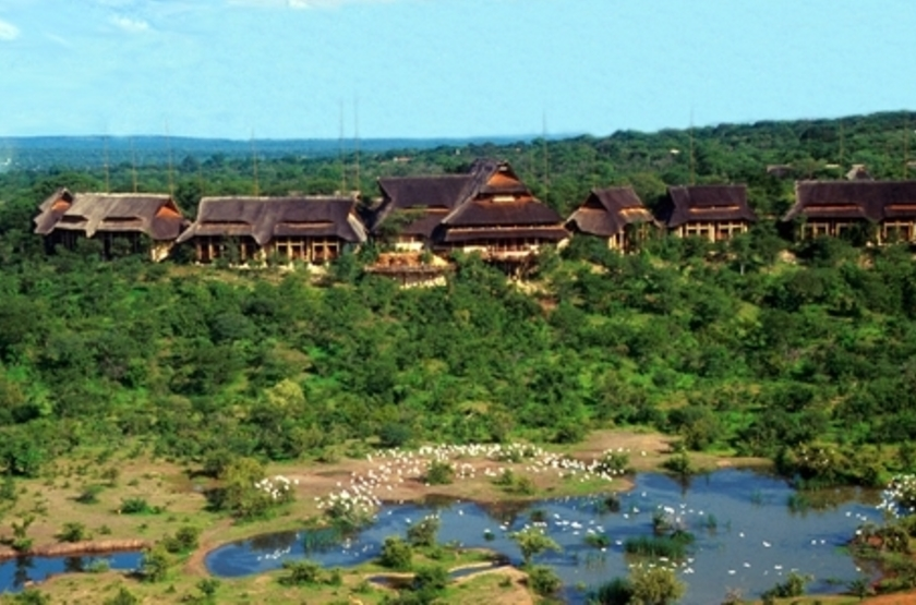 Victoria Falls Safari Lodge, Victoria Falls, Zimbabwe, emplacement
