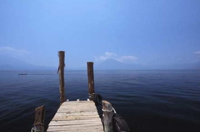 La Posada de Don Rodrigo, Atitlan, jetty