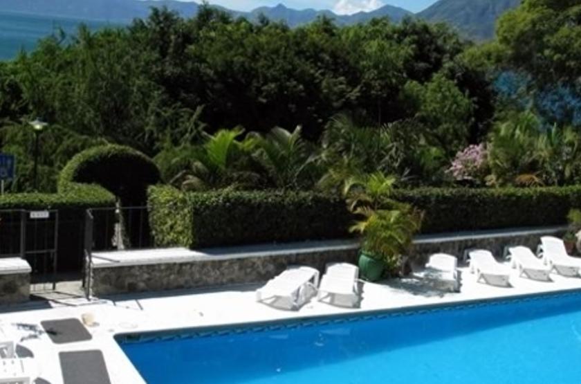 La Posada de Don Rodrigo, Atitlan, piscine