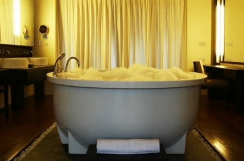 Zitahli Kuda- Funafaru, Nooru Atoll, Maldives, salle de bains