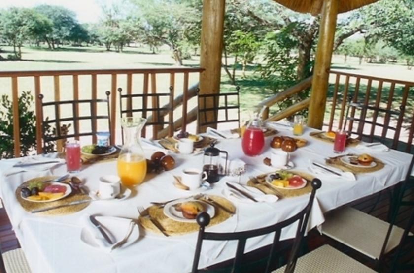 Falaza Game Lodge, Afrique du Sud, restaurant