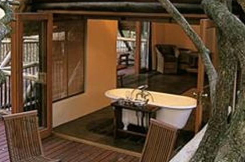 Hluhluwe River Lodge, Afrique du Sud, salle de bains