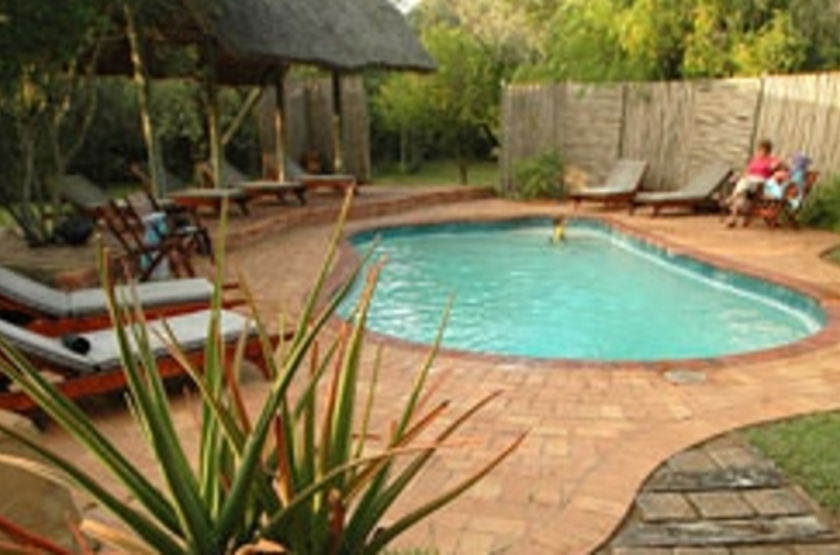 Hluhluwe River Lodge, Afrique du Sud, piscine