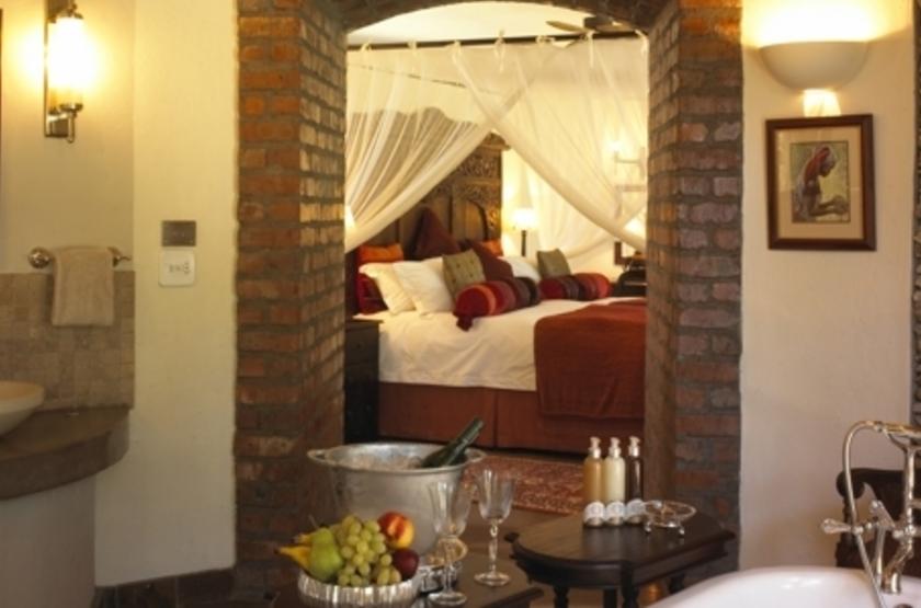 Tintswalo Safari Lodge, Manyeleti Reserve, Afrique du Sud, salle de bains