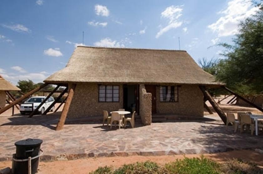 Twee Rivieren, Nossob, Kalahari Transfrontier Park, Afrique du Sud, extérieur