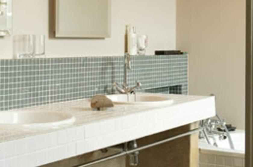 Welgelegen House, Cape Town, Afrique du Sud, salle de bains