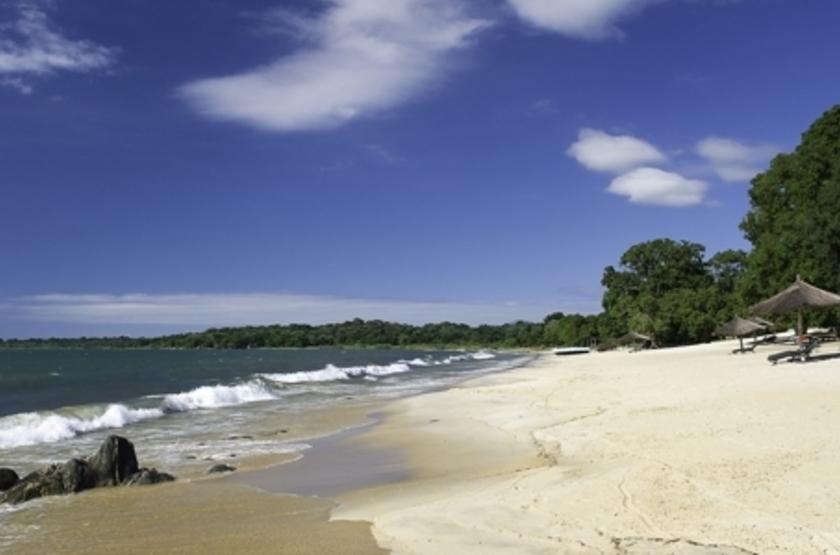 Chintetche Inn, lac Malawi, plage