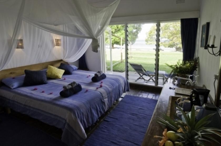 Chintetche Inn, lac Malawi, chambre