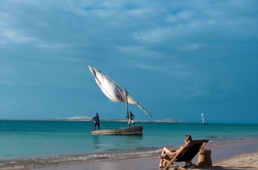 Azura Benguerra Island, Vilancoulos, Mozambique, plage