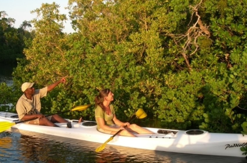 Ibo Island Lodge, Quirimbas, Mozambique, kayak