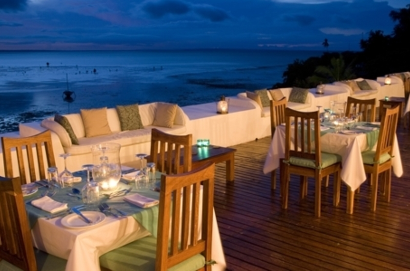 Ibo Island Lodge, Quirimbas, Mozambique, restaurant