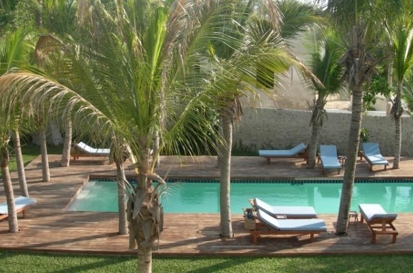Ibo Island Lodge, Quirimbas, Mozambique, piscine