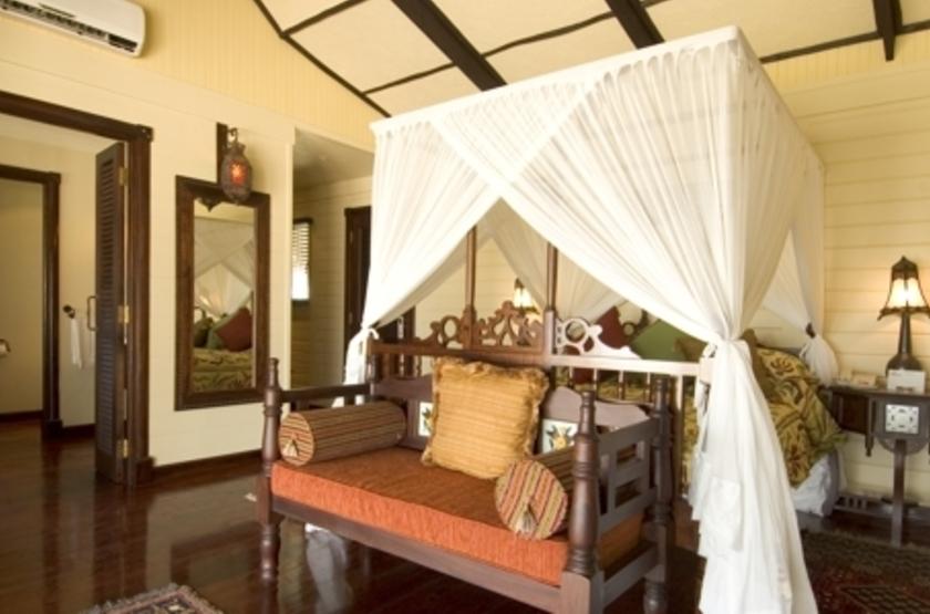Matemo Island Resort, Quirimbas, Mozambique, chambre