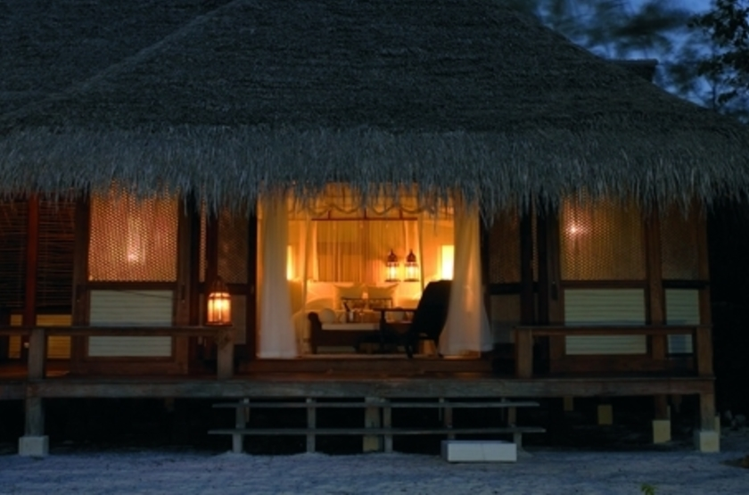 Vamizi Island Lodge, Quirimbas, Mozambique, by night