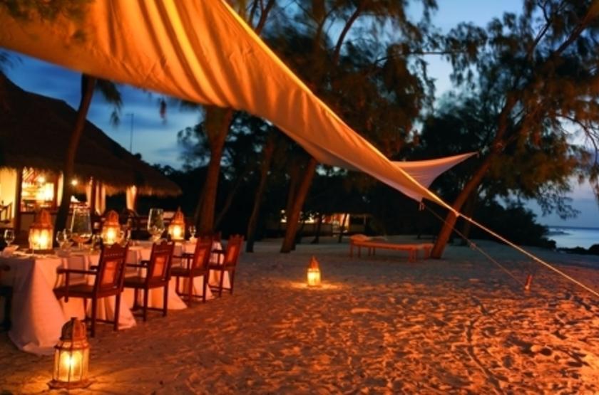 Vamizi Island Lodge, Quirimbas, Mozambique, restaurant