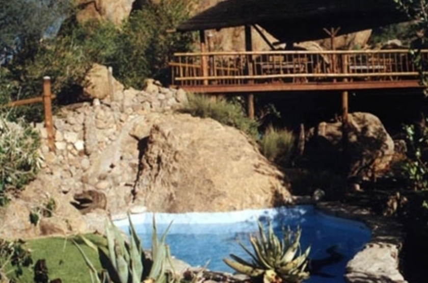 Erongo Wilderness Lodge, Namibie, piscine