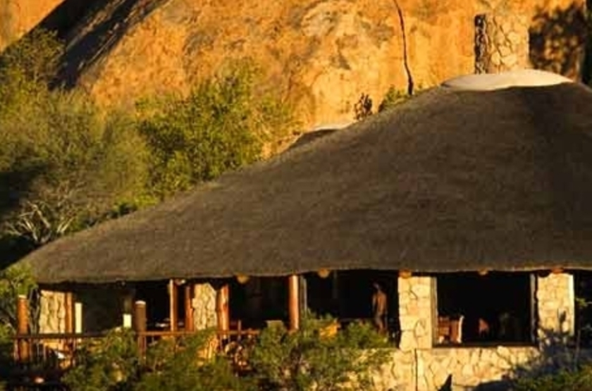 Erongo Wilderness Lodge, Namibie, main space