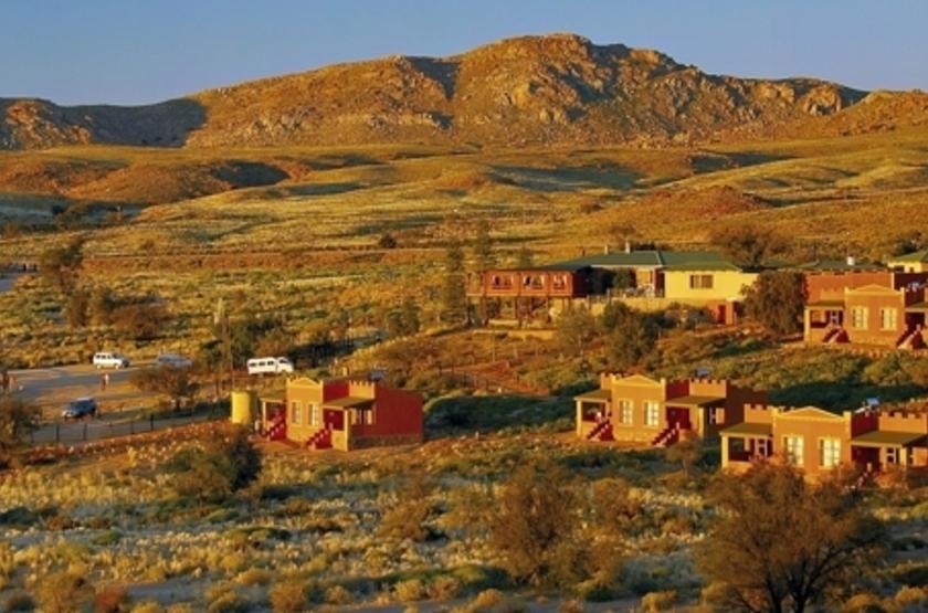 Klein Aus Vista, Aus, Namibie, emplacement