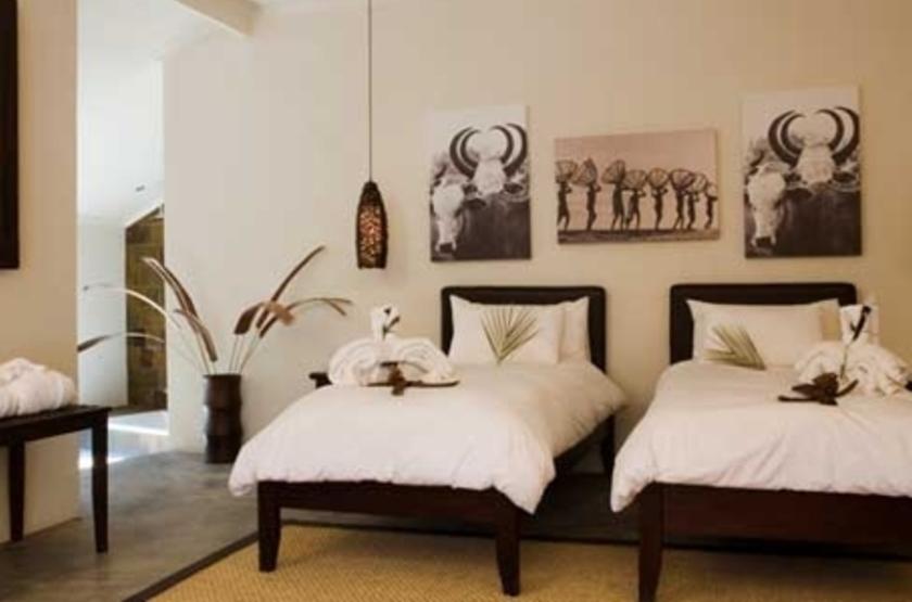 Namutoni Rest Camp, Parc d'Etosha, Namibie, chambre
