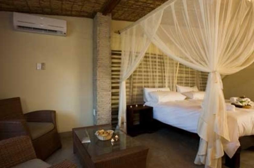 Okaukuejo Rest Camp, parc d'Etosha, Namibie, chambre