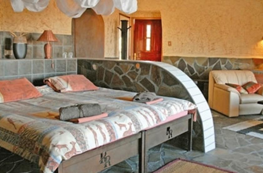 Rostock Ritz Lodge, Sesriem, Namibie, chambre