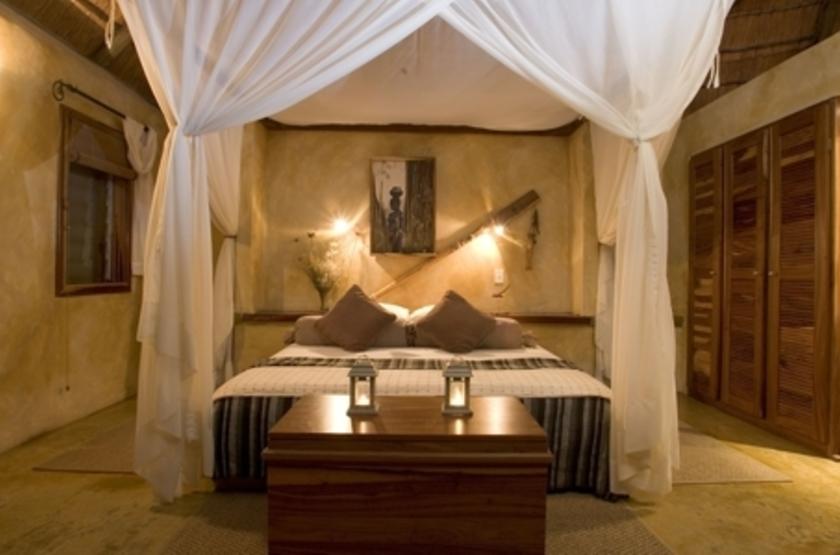 Susuwe Island lodge, Parc National Bwabwata, Namibie, chambre