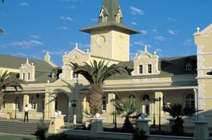 Swakopmund Hotel, Namibie, extérieur