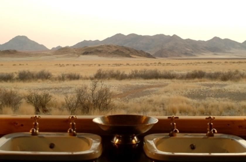 Wolwedans Boulders Camp, Namibie, salle de bains