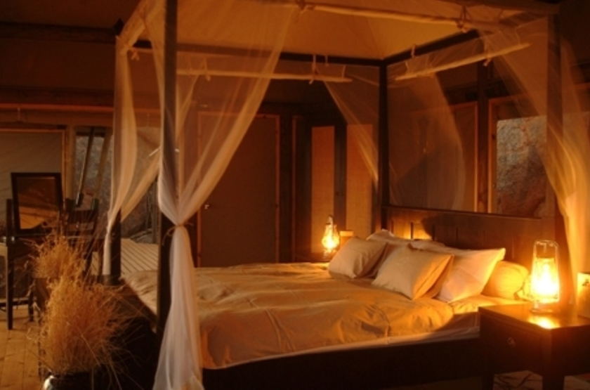 Wolwedans Boulders Camp, Namibie, chambre