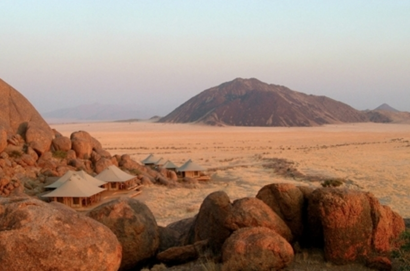 Wolwedans Boulders Camp, Namibie, emplacement