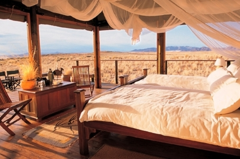 Wolwedans Dune Lodge, Namibie, chambre