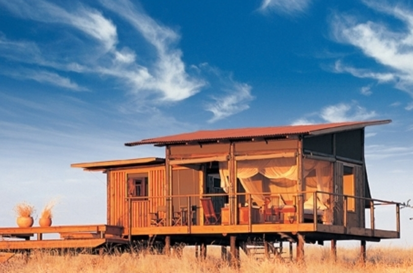 Wolwedans Dune Lodge, Namibie, chalet