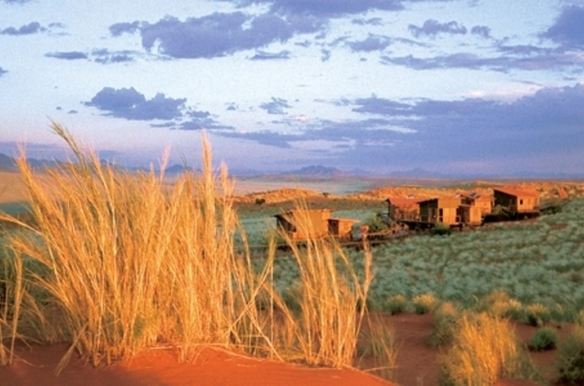Wolwedans Dune Lodge, Namibie, emplacement