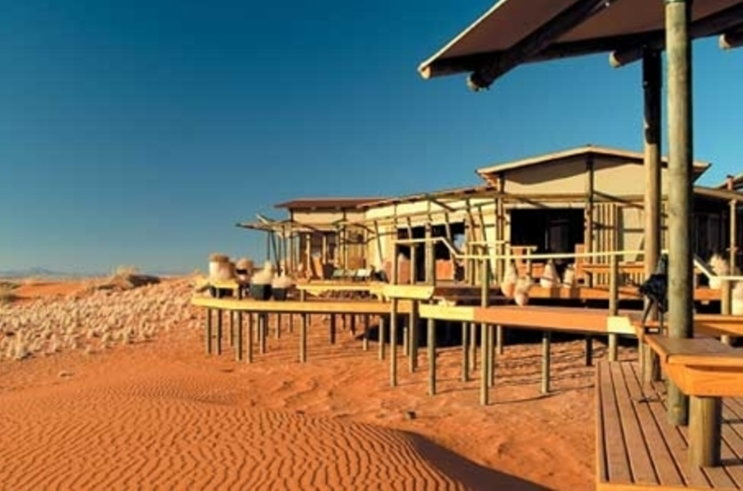 Wolwedans Dune Lodge, Namibie, chalets