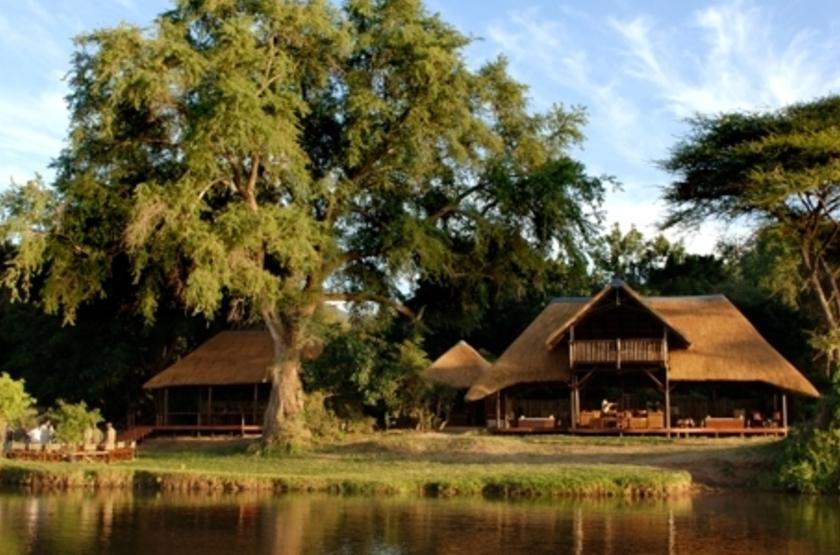 Chiawa Camp, Lower Zambezi, Zambie, emplacement
