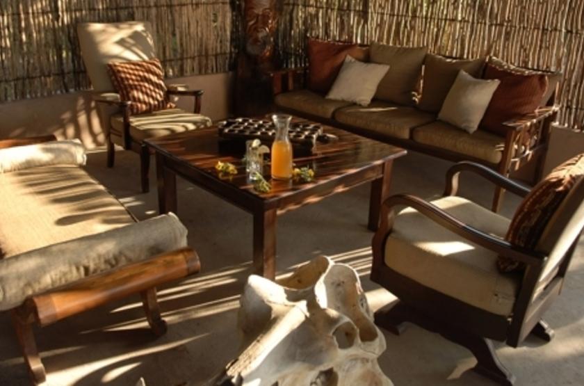 Chiawa Camp, Lower Zambezi, Zambie, lounge
