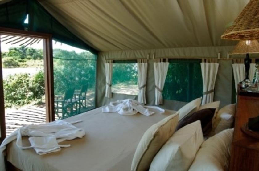 Chongwe River Camp, Lower Zambezi, Zambie, chambre